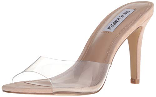 Steve Madden Women's Erin Pump, Clear, 7 M US