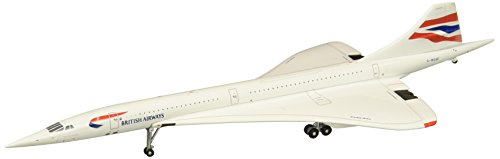 Concorde Jet (Gemini Jets British Airways Concorde G-Boaf 1:400 Scale Diecast Model Airplane.)