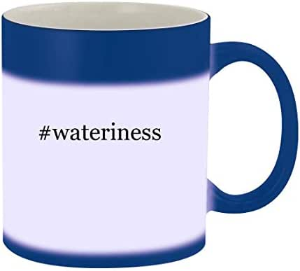 #wateriness - 11oz Hashtag Magic Color Changing Mug, Blue