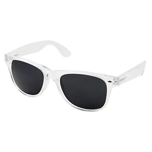 grinderPUNCH Crystal Clear Frame Lens Transparent Sunglasses Eyeglasses Retro 80