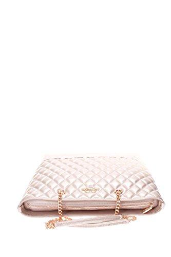 Love Moschino Donna Borsa shopping JC4003PP15LA0905 BORSA QUILTED METALLIC PU RAME Rosa