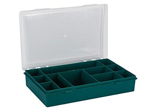 Tayg TAYG-BOX4 Assortimento Box,11 Comparti, Verde scatola scomparti