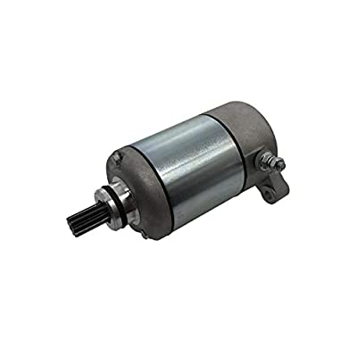 SHUmandala 18645 Starter Motor Polaris 3084981 3090188 for Sportsman 335 450 500/Magnum 325 330 425 500/Scrambler 500/Big Boss 500/Pro 500/ATP 330 500/Trail Blazer 330/Trail Boss 325 330/Worker 335: Automotive