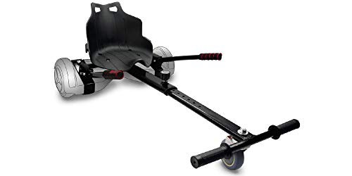 Intense Devices Hoverkart Silla para Patinete Electrico Self Balancing Compatible con Todos los tamaños (Negro)