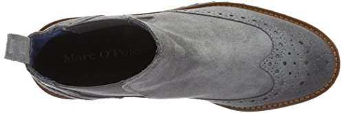 Marc O'Polo Women's 61012905002300 Flat Heel Chelsea Ankle Boots Grey (Grey 920) FGpZv