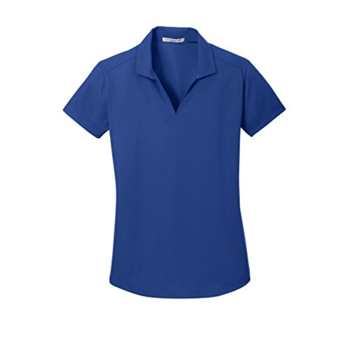 Port Authority Ladies Dry Zone Grid Polo, True Royal, X-Large