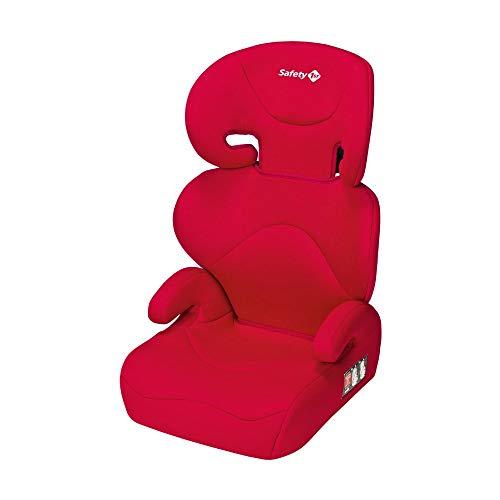 Safety 1st Road Safe Silla de coche grupo 2/3, reclinable en 2 posiciones, Facil y rapida de instalar con cinturon de seguridad, color Rojo