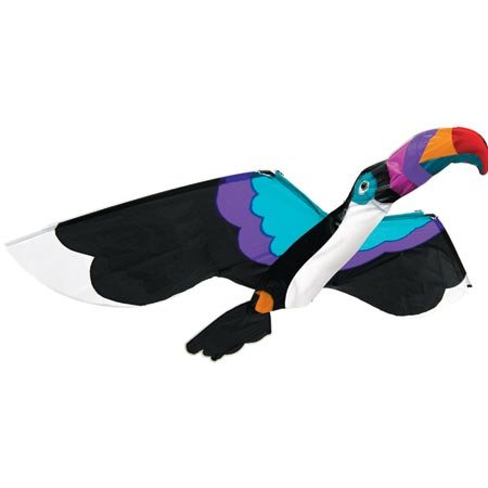 3D Toucan Nylon SV, 60'' x 43'' by Gayla Industries