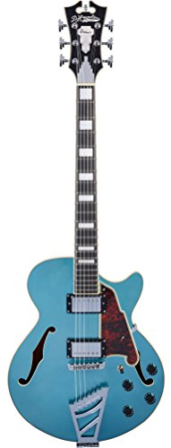 D'Angelico Premier SS Semi-Hollow Electric Guitar w/Stairstep Tailpiece – Ocean Turquoise