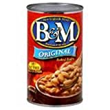 B & M Originial Baked Bean - 28 oz. can, 12 cans per case