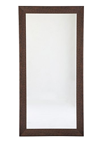 Cheap Ashley Furniture Signature Design – Duha Leaning Accent Mirror – Contemporary – Brown Finished Frame