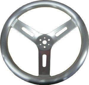 Aluminum Steering Wheel BIG Pro Grip 15 IMCA Dirt Modified Circle Track Bryke Racing