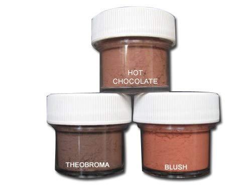 (Petal Dust Set of 3 Cocoa/Theobroma/Blush )