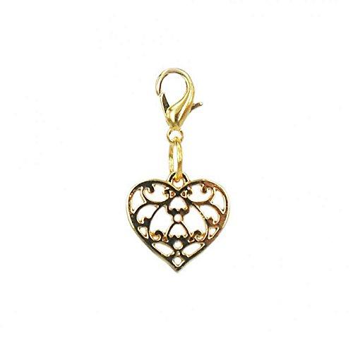 Charm Coeur de la marque Charm's Goldline