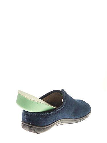 GRUNLAND - Zuecos para mujer Azul
