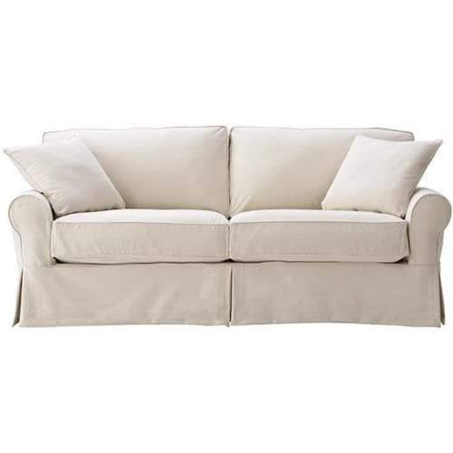 Slipcovered Loveseat Amazon Com