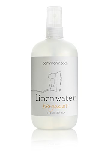 Common Good Linen Water Spray Bottle, Bergamot Scent, 8oz