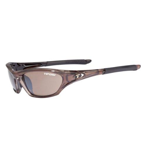 Tifosi Womens Core 0200404771 Wrap Sunglasses,Crystal Brown