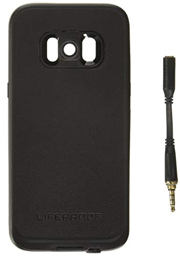 Lifeproof FRĒ SERIES Waterproof Case for Samsung Galaxy S8 (ONLY) - Retail Packaging - ASPHALT (BLACK/DARK GREY) (Best Case For Samsung Galaxy S8)