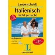 Langenscheidt Italienisch leicht gemacht Anfängerkurs. Mit Vokabeltrainer auf CD-ROM (Lernmaterialien)