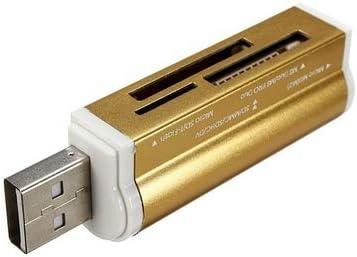 FAgdsyigao Multifunction Card Reader,USB 2.0 Micro SD TF MMC SDHC MS High Speed Memory Card Reader