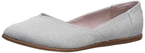- TOMS Women's Jutti Ballet Flat Drizzle Grey Scattered Woven W 9.5 US