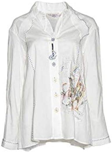 Elisa Cavaletti EJW181073900 - Camisa de soño, diseño de cabaletti blanco hueso XL: Amazon.es: Ropa y accesorios