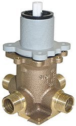 Price Pfister 0X8-310A Universal 0X8 Series Tub and Shower Rough Valve, Pressure Balanced Cartridge without Stops, 7.75'' x 5.63'' x 7.63''