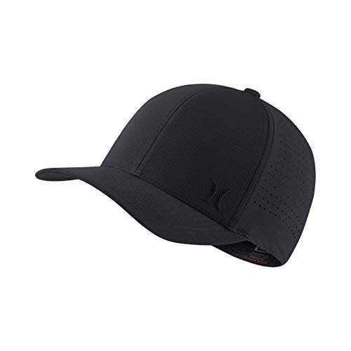 Hurley Phantom Ripstop Hat 010-Black S-M ()