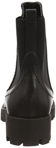 XTI 28774 - zapato botín de material sintético mujer negro - negro (Negro)
