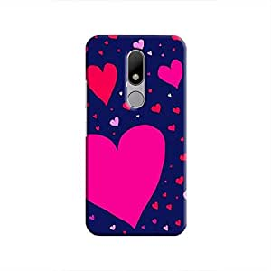 Cover It Up Flying Love Hard Case For Moto M - Multi Color