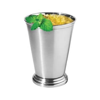 Oggi Mint Julep Cup, 12 oz, Stainless Steel