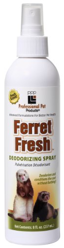 PPP Pet Ferret Fresh Deodorizing Spray, 8-Ounce
