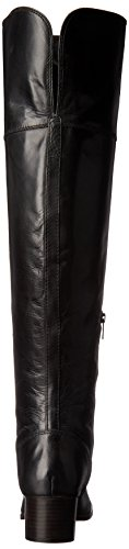 Slouch OTK Calf Boot Extended Leather Women's FRYE Black Clara wfqWg