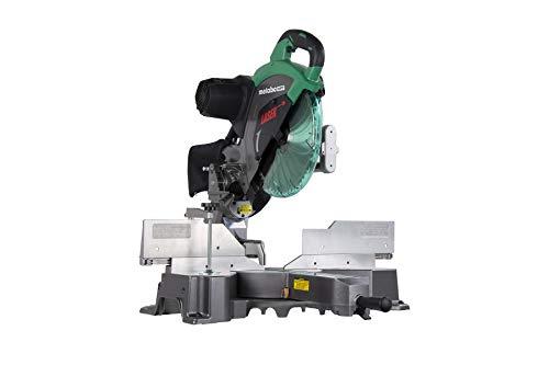 Metabo HPT C12RSH2 12-Inch Sliding Compound Miter Saw, Double Bevel, Laser Marker, Compact Slide System, 15-Amp Motor, Large Sliding Fences, 5 Year Warranty