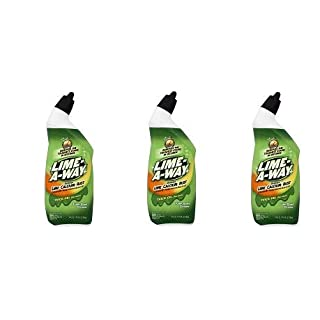 Lime-A-Way Liquid Toilet Bowl Cleaner, 24 fl oz Bottle, Removes Lime Calcium Rust
