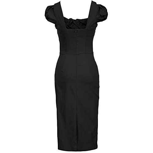 9cf2a9b37a05 cheap MUXXN Women's 50s 60s Vintage Casual Cap Sleeve Office Pencil Dress