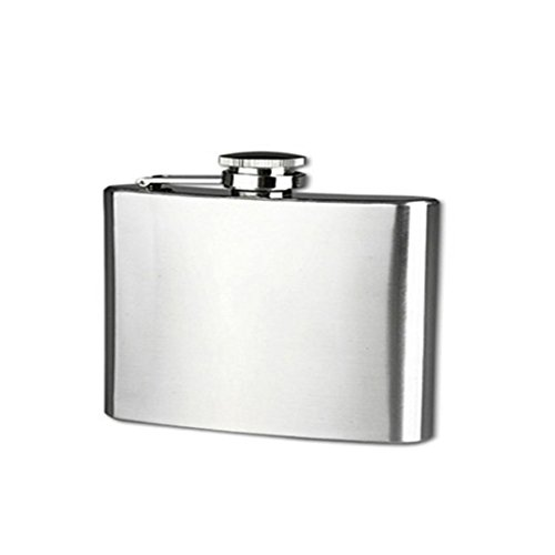 Stainless Steel 10oz Hip Drink Liquor Whisky Alcohol Flask Screw Funnel Cap - 4