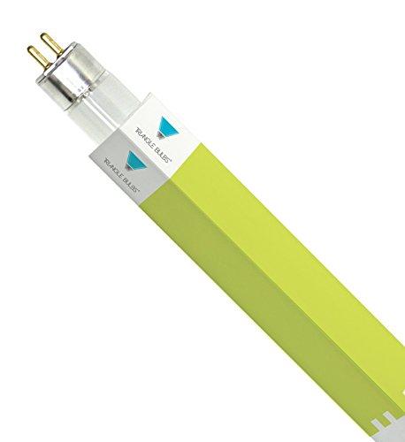 TriGlow (Pack of 10) F54T5/841/HO 54-Watt T5 High Output 4100K Cool White Fluorescent Tube Light Bulbs