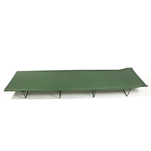 Field Cot detachable Mil-Tec olive ; Material: aluminium/Polyester