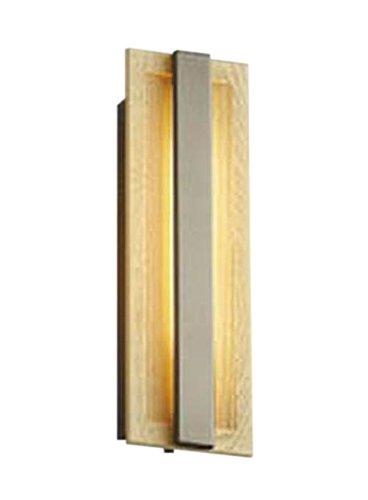 コイズミ照明 人感センサ付ポーチ灯 マルチタイプ ナチュラルウッド色塗装 AU48010L B072K47FN4 21250