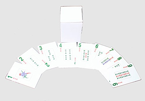 178 American Western Traditional Chinese Mahjong Playing Cards Deck Set