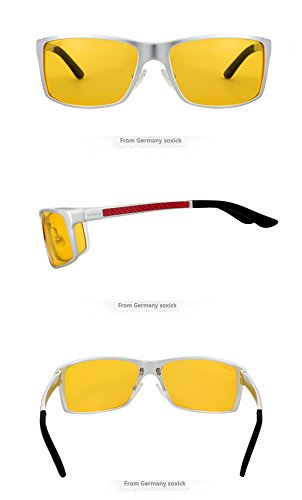 SOXICK Polarized Sunglasses & Night Vision Glasses For Driving Adjustment Frame L2