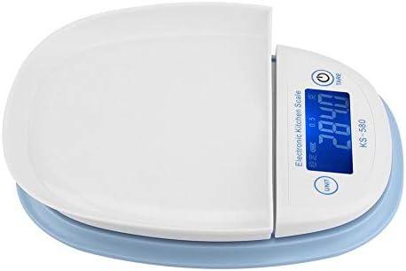 Bilance da Cucina Digitale Display LCD elettronico da 5 kg / 1 g di bilance da cucina digitali per bilance da carne