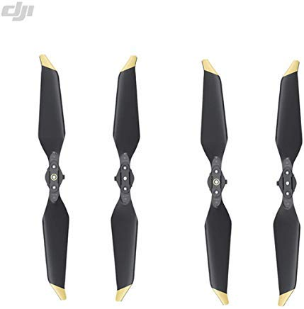 DJI Genuine Low-Noise Quick-Release 8331 Propellers for Mavic Pro or Mavic Pro Platinum (Gold) 2 Pairs