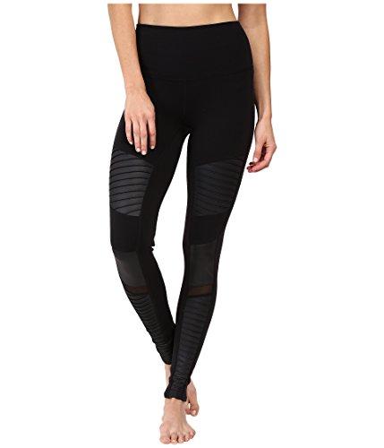 Alo Yoga Women's High Waisted Moto Legging, Black...