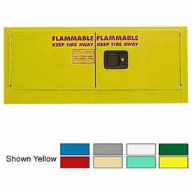 12-Gallon Self-Close, Stackable Flammable Cabinet Ag ()