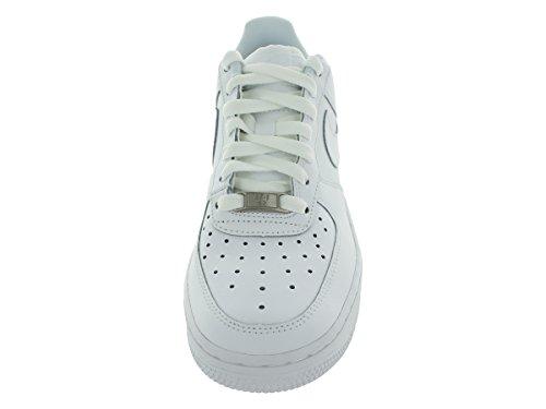 Nike Air Force 1 (Gs), Zapatillas de Baloncesto para Niños blanco