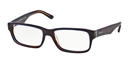 (Eyeglasses Prada PR 16 MV ZXH1O1 TORTOISE DENIM)