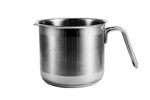 ISIN Daeden Kitchenware Series: 8 Cup Multi Pot Stainless Steel with Saucepan Multi-pot 1.9 L